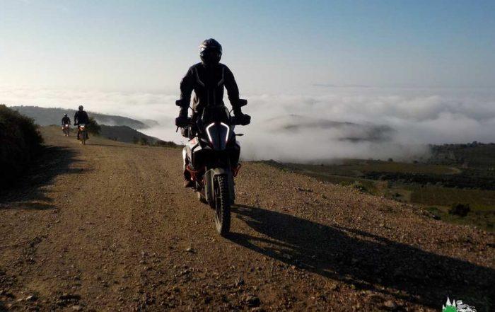 rouler dans les nuages !