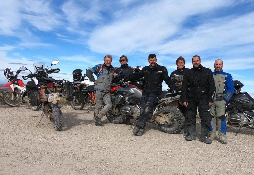 Rando moto de novembre Aragon