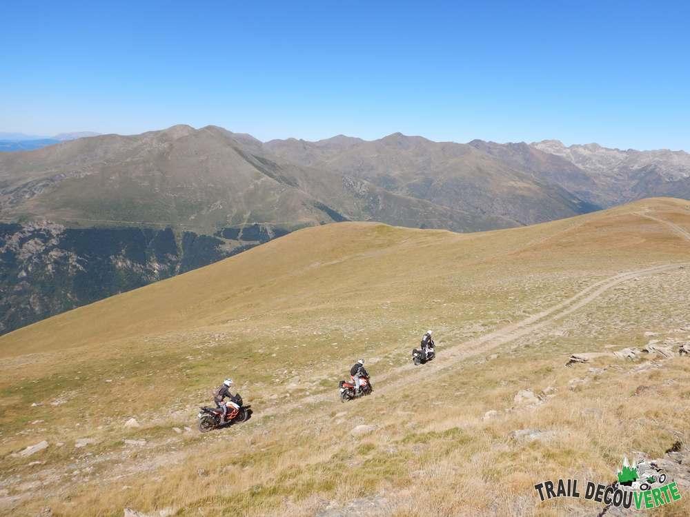 randonnée moto 6 jours Pyrénées